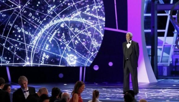New Horizons Prize Ceremony, on Dec. 13, 2016.
