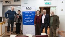 Prof. Alon Tal, Prof. Gila Menahem, Prof. Miranda Schreurs, Prof. Itai Sened and Dr. Arie Nesher