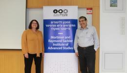 Prof. Leora Batnitzky and Prof. Arye Edrei