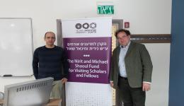 Dr. Yair Shokef and Prof. Bernhard Mehlig