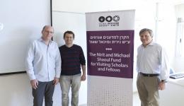Prof. Amir Erez, Prof. Danny Heller and Prof. Peter Bamberger